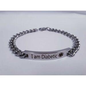 """Náramek """"I am Diabetic"""""""