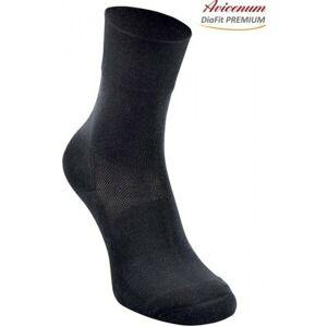 Ponožky Avicenum DiaFit PREMIUM - barva černá velikost 36 - 39