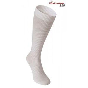 Podkolenky Avicenum 310 - bavlněné kompresivní - bílá barva velikost 45-47
