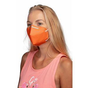 Respirátor FFP2 GOOD MASK GM2 oranžový